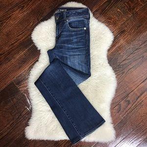 American Eagle Kick Boot Jeans Stretch 4L Long